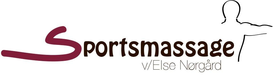 Logo: En sportsmassage v/ Else Nørgård